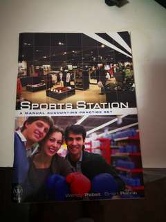 Sports Station Manual Accounting Practice Set