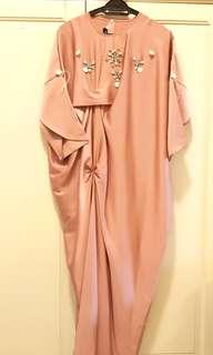 IanshamKL Tulip Drape Dress