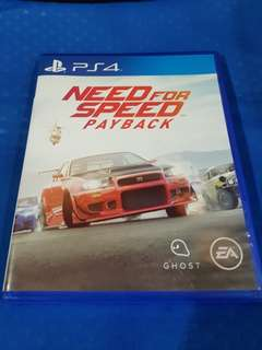 Need For Speed: Payback (PS 4)