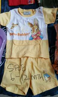 Peter Rabbit shirt+pants #20under