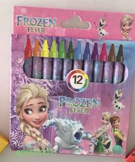 Frozen theme crayon for children birthday party goodies gift, drawing gift, goody bag packages