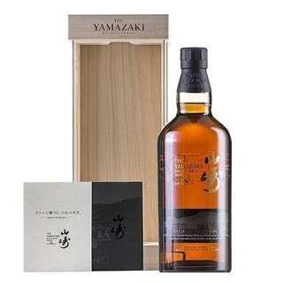 日本威士忌 山崎18限量版