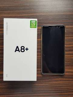 Samsung A8 Plus 2018 Gold with Warranty