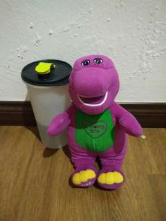 Authetic Barney soft toy - Big