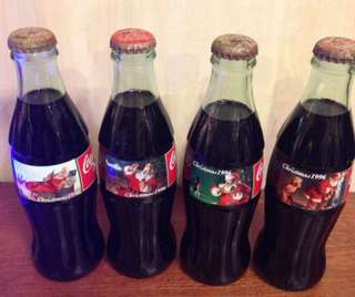 Coca Cola 1996 Christmas collection set