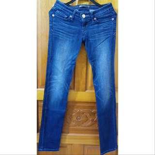 Levi's 女生 深藍 牛仔褲