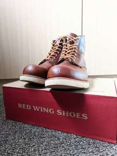 Red Wing Boots 9111 Round Toe