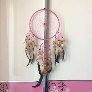SOFT PINK DREAM CATCHER