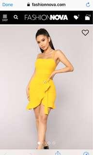 Fashion nova , I'm what you want dress