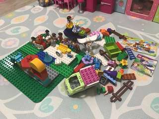 Lego Duplo (5 boxes mix + extra boards)