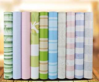 Pvc wallpaper water proof self adhesive 10mx45cm per rolls