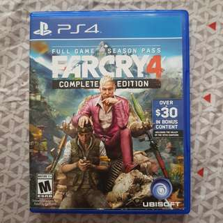 BD PS4 Far Cry 4 Reg All
