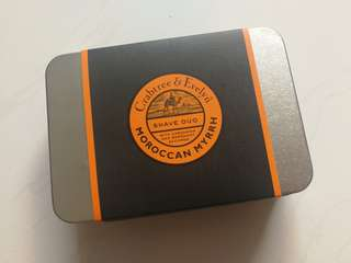 Crabtree and Evelyn Moroccan Myrrh shave duo