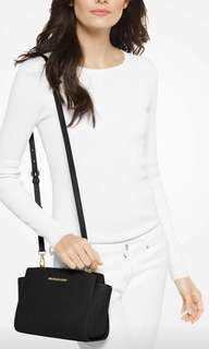 Michael Kors Black Selma Bag