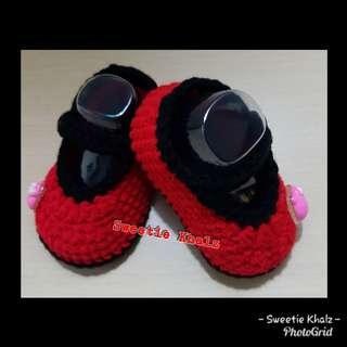 Booties Crochet (Kasut kait)