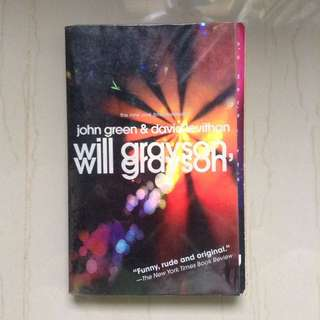 Will Grayson, Will Grayson by John Green and David Leviathan