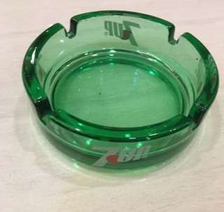 Vintage 7up glass Ash tray
