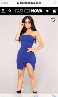 Fashion Nova Checkin your mate out dress
