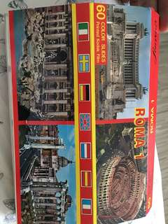 Italy Roma 60 colour slides Kodak film