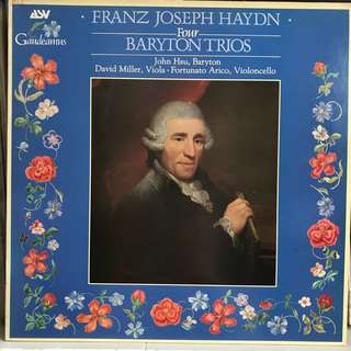 Haydn 4 Baryton Trios ASV 104