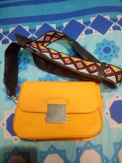 Tas Zara Yellow
