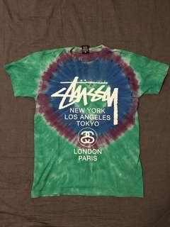 Stussy World Tour Tie Dye Tee