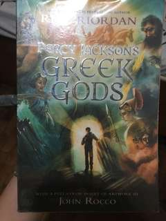 Greek Gods by Rick Riordan