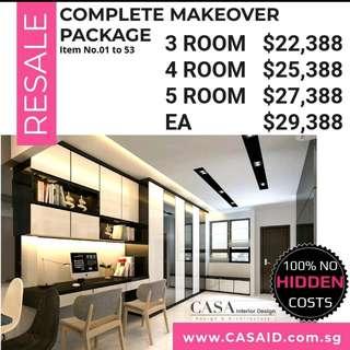 📣 Resale Savings Complete Makeover Home Renovation