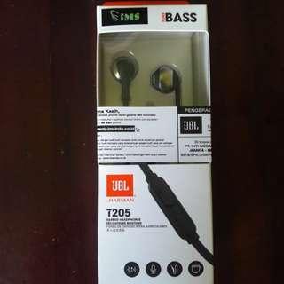 JBL T205 EARPHONE