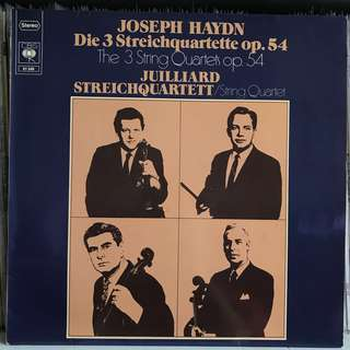 Juilliard String Quartet plays Haydn 3 SQ op.54 CBS 61549