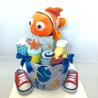 Ready stock ! Large 2-tier Diaper cake