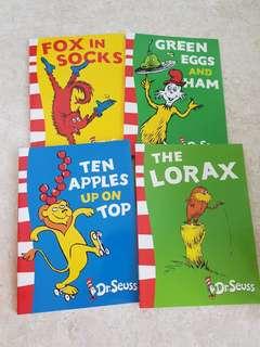 Dr. Seuss story books