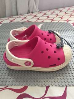 AUTH CROCS BUMP IT CLOG CANDY PINK