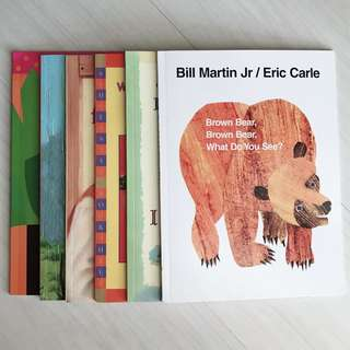 Eric Carle and other titles (6 books)