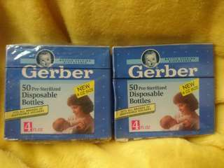 Gerber Disposable bottle liners / travel bottle
