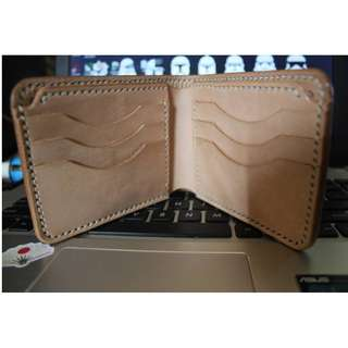 DOMPET KULIT (VEGETABLE TANNED LEATHER)