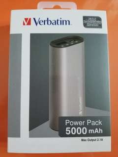 Verbatim Power Pack 5000mAh 手提充電電池