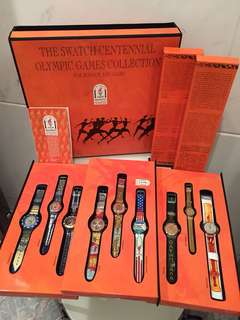 Swatch Olympic Collection 1996