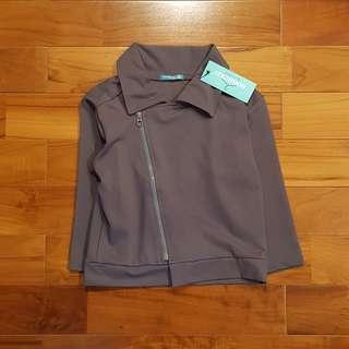 Boy grey jacket