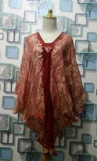 Blouse batwing sutra