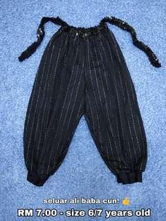 6/7 years old - Ali Baba Pants