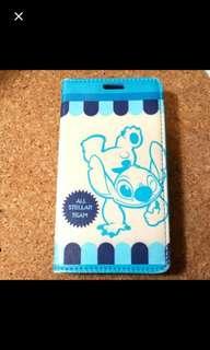 Disney淺藍色史迪仔stitchS4卡通可愛手機殼Samsung /三星