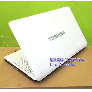 日系經典大螢幕美型 TOSHIBA L650 i5-480M 4G 500G 獨顯 DVD 15吋筆電 ◆聖發二手筆電◆