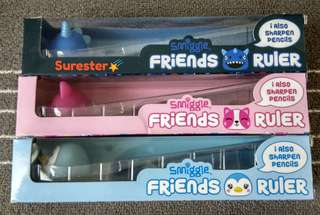 Smiggle Friends Ruler