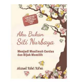 Ebook Aku Bukan Siti Nurbaya - Ahmad Rifai Rifan