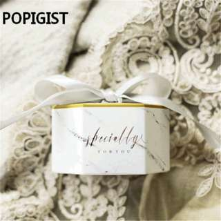 (Pre-order) 30 pieces Specially for You Marbled boxes/Favors