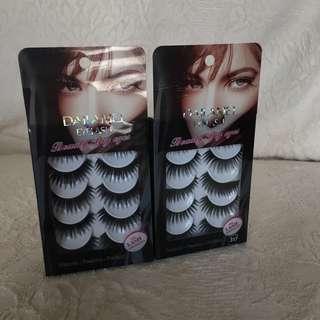 Fashion Eyelash (bulu mata palsu) (1 box isi 5 pasang)