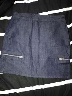 Denim skirt size 6