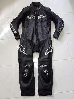 Alpinestars 1 Piece Leather Suit (Size 56)