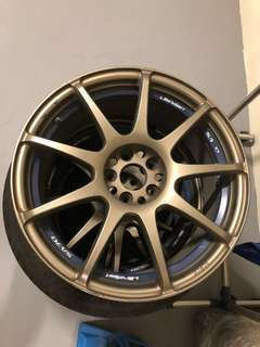 "Websport original rim 17"" 5x100"